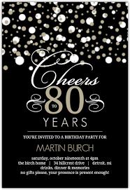 80th birthday invitations 80th birthday invitations