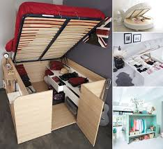 Bedroom Furniture Ideas For Small Spaces 13 Clever Ideas To Use Bedroom Furniture For Storage Http Www