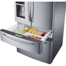 Samsung French Door Refrigerator Cu Ft - samsung 28 1 cu ft 4 door french door refrigerator rf28hmedbsr
