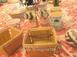how to make a gift basket gift basket with anthro ode to inspiration