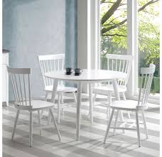 nspire chicago round dining table white disc 201 898rd modern chicago round dining table white