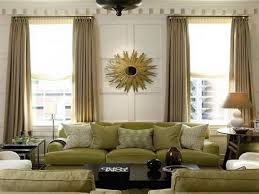 nice design ideas of curtain styles for living room with white