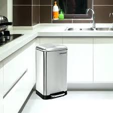 poubelle inox cuisine poubelle de cuisine inox kitchen move poubelle de cuisine