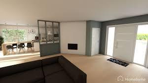 amenager cuisine salon 30m2 amenagement salon photos aménagement intérieur moderne dune