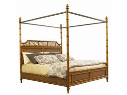 tommy bahama home island estate king size west indies canopy bed