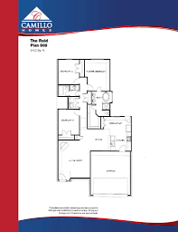 patio homes floor plans floor plans u2013 camillo homes lake conroe