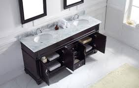 Bathroom Vanities Maryland Virtu Usa 72 Bathroom Vanity Set In Espresso