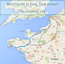 Calais France Map by Brittany Is Far Far Away Falcondale Life