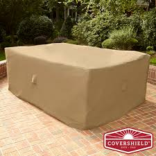 Patio Chair Covers by Covershield Rectangle Furniture Cover Deluxe Limited Availability