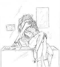 kiss commission by destinyfall on deviantart