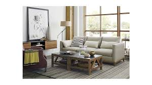 Who Makes Crate And Barrel Sofas Bluestone Square Coffee Table Crate And Barrel