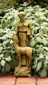 concrete rabbit garden statues home outdoor decoration