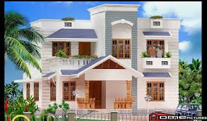 3d home design 3d contemporary kerala home design 3d elevation with plan home pictures