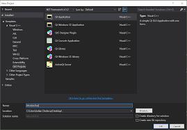 qt programming visual studio qt 5 7 visual studio modules grayed out stack overflow
