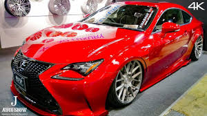 lexus lfa body kit hd aimgain lexus rc f bodykit tokyo auto salon 2017 youtube