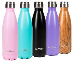 amazon com stainless steel water bottle double wall vacuum