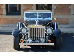 roll royce philippines 1931 rolls royce phantom 2 for sale classiccars com cc 981386