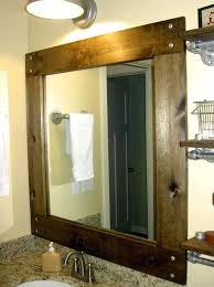 Bathroom Mirror Frame Kit Bathroom Mirrors Framed Akapello