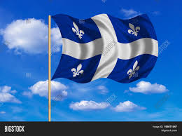 Canadian Provincial Flags Canadian Provincial Flag Qc Image U0026 Photo Bigstock