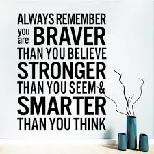 online get cheap braver wall decal quote aliexpress com alibaba
