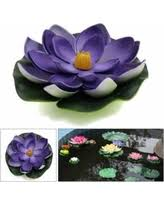 amazing deal on aquarium foam simulation floating lotus flower