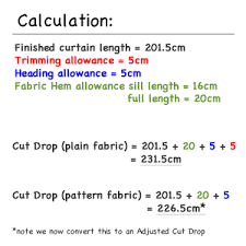 How To Calculate Yardage For Curtains Pencil Pleat Curtain How To Calculate Fabric Quantities