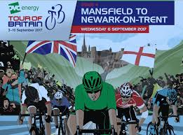 Map Of Britian Revealed Timings And Route Map Of Nottinghamshire Stage Of Tour