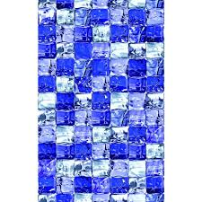 The Home Decor by D C Fix Ice Cube 26 In X 59 In Home Decor Static Cling Window