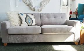 Large Sofa Bed Lewis Zack Stunning Silver Chenille Large Sofa Bed 729 Rrp