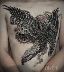 tattoo eagle japanese chest tattoo tattoo for men animals birds