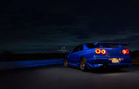 nissan skyline 2015 blue nissan skyline r34 gt r c3 photo