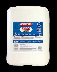 commercial x300 cleaner for new systems sentinel