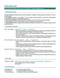 employment resume template resume template jmckell