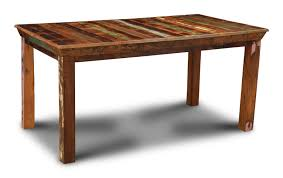 indian wood dining table reclaimed indian medium dining table trade furniture company