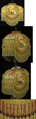 victorian l shades with beaded l shades 20708 victorian l shade fragonard fabric gold silk
