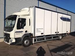 volvo truck center volvo fl 4x2 16 tn umpikori 7 5 m tl nostin box trucks for rent