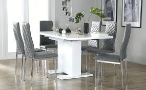 High Gloss Extending Dining Table Extending Dining Table And 6 Chairs U2013 Zagons Co