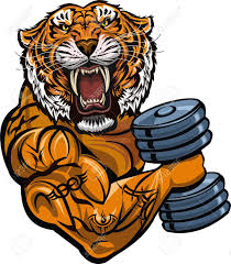 saber toothed tiger weightlifting power sport fitness