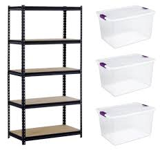 Storage Bin Shelves by Why I Almost Never Buy Storage Containers Andrea Dekker