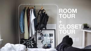 minimal room room tour closet tour minimal modern youtube