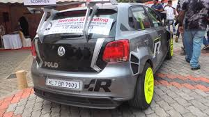 volkswagen polo black modified modified vw polo youtube