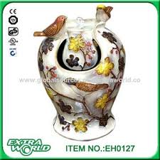 china fish statue water fountain indoor ceramic home decor on