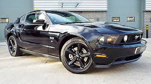 2010 Black Ford Mustang 2010 Ford Mustang 5 0 V8 Gt Premium Muscle Car Ebony Black Stand