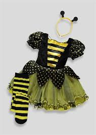 kids bumble bee halloween costume 6mths 4yrs childrens fancy