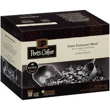 Blend K Cups Peet S Coffee Major Dickason S Blend Roast 32ct