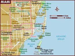 map usa lonely planet map of miami