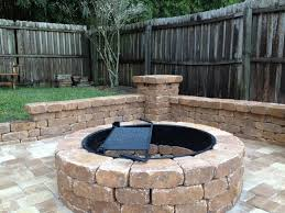 Stone Fire Pit Kit by Tips Traditional Outdoor Heater Design Ideas With Pavestone Fire