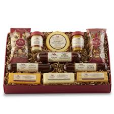 summer sausage gift basket signature party planner gift box gift hickory farms