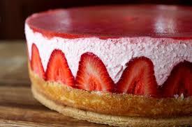strawberry yogurt mousse cake the little epicurean