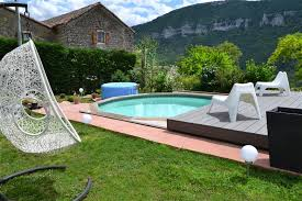 bed and breakfast pool gorges du tarn millau aveyron lozere
